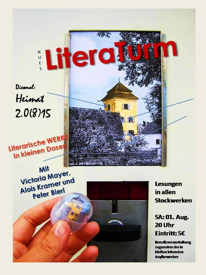 Nues LiteraTurm – Kopfkino im Taubenturm