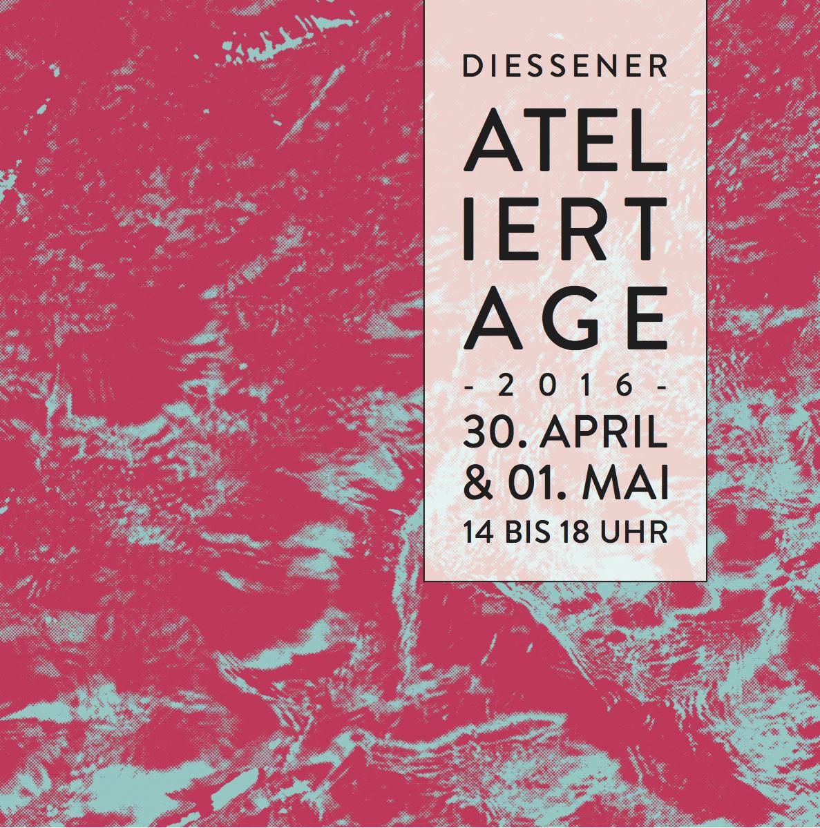 Coming Soon: die 2. Diessener Ateliertage